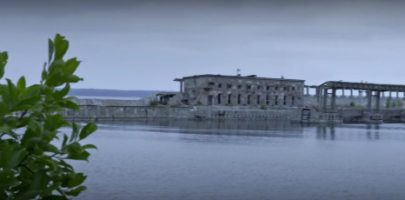 Hara Soviet submarine degaussing station
