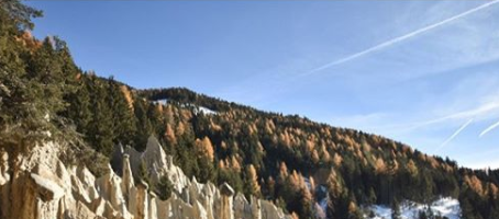 Earth pyramids of Platten, South Tyrol, Italy