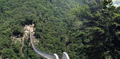 Tibetan Bridge Monte Carasso – Sementina