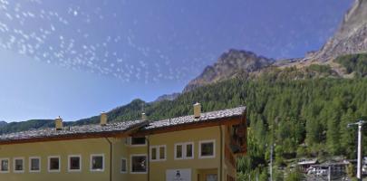 Gran Paradiso National Park visitor centre (Italy, Valsavarenche)